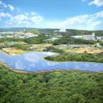 メガソーラー登川発電所完成 -沖縄で広告PR・プロモーションのご相談は株式会社art's(アーツ)-